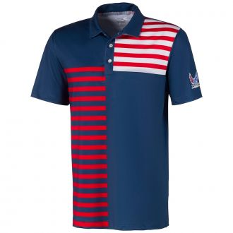 Volition Liberty Golf Polo - Dark Denim
