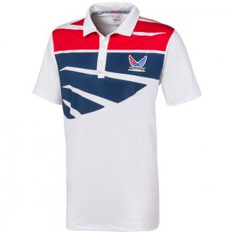 Volition Flight Golf Polo - Barbados Cherry