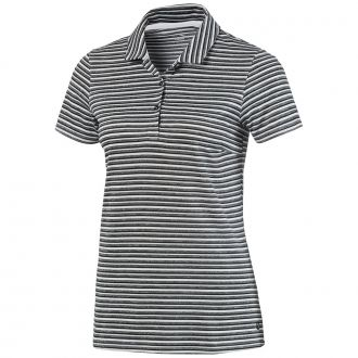 Women's Links Golf Polo - Puma Black