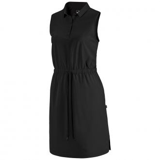 Women's Sleeveless Golf Dress - Puma Black