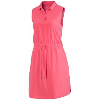 Women's Sleeveless Golf Dress - Rapture Rose