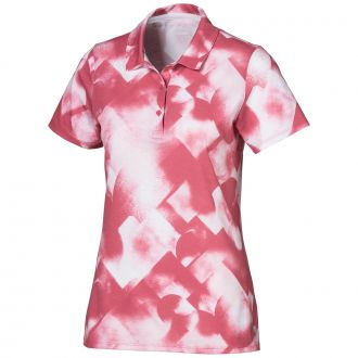 Women's Soft Geo Golf Polo