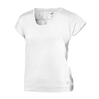 Women's Slouchy Tee - Bright White