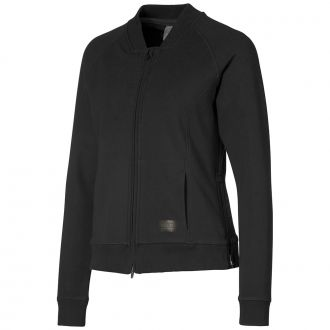 Women's Bomber Golf Jacket - Puma Black