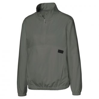 Women's Half Zip Golf Windbreaker - Thyme