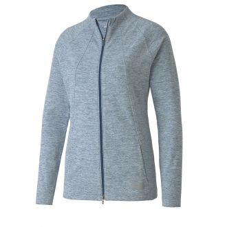 Women's Cloudspun Warm Up Golf Jacket - Digi Blue