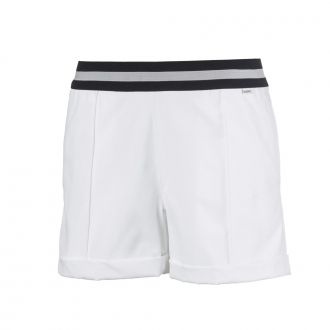 Women's Elastic Golf Shorts - Bright White