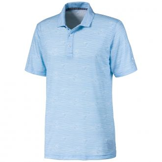 Predators Golf Polo - Blue Bell