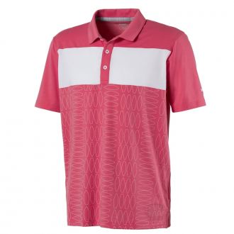Turfs Up Golf Polo - Rapture Rose