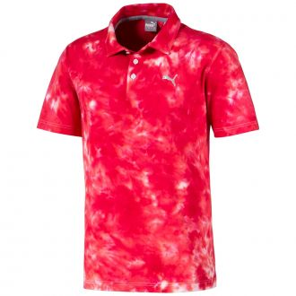 Haight Golf Polo - Barbados Cherry