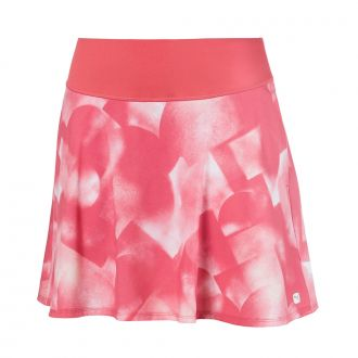 PWRSHAPE Soft Geo Golf Skirt - Rapture Rose