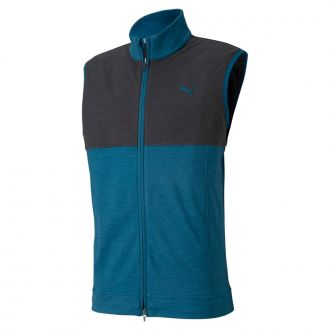 Warm Up Golf Vest - Digi Blue