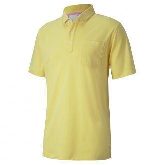 Signature Pocket Golf Polo - Dusky Citron