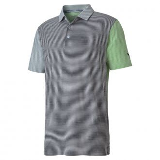 CLOUDSPUN Mutlicolor Golf Polo - Greenery