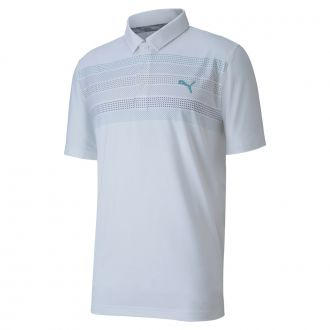Road Map Golf Polo - Bright White