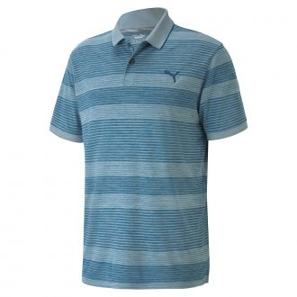 Landing Golf Polo - Digi Blue