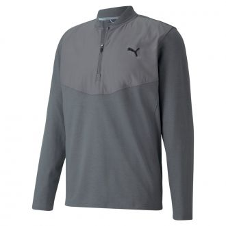 CLOUDSPUN Stlth Golf 1/4 Zip - Quiet Shade Heather