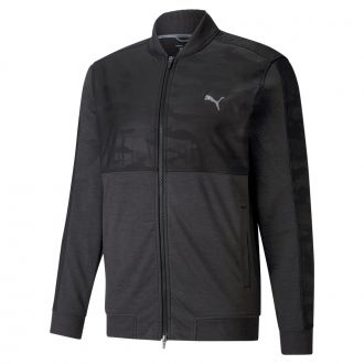CLOUDSPUN Stlth Camo Golf Jacket - Puma Black