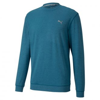 CLOUDSPUN Golf Crewneck - Digi Blue