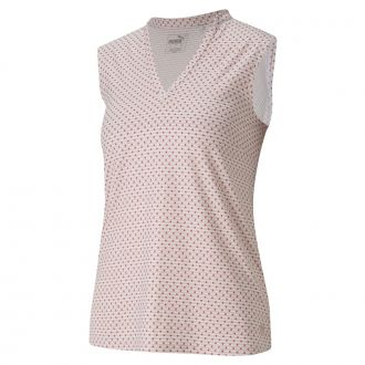 Women's CLOUDSPUN Speckle Sleeveless - Rose Wine