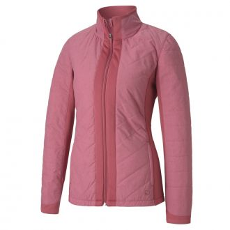 Women's PRIMALOFT Golf Jacket - Rose Wine
