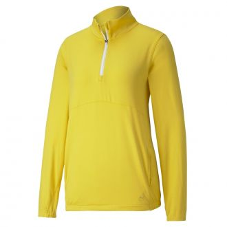 Women's CLOUDSPUN Golf 1/4 Zip - Super Lemon