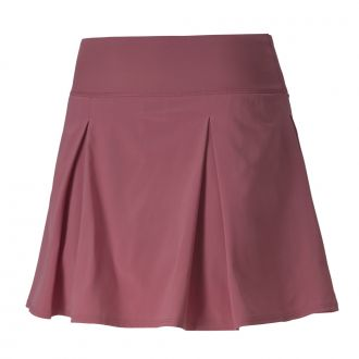 Women's PWRSHAPE Fashion Golf Skirt - Rose Wine