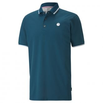 Signature Tipped Golf Polo - Legion Blue