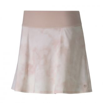 Women's PWRSHAPE Tie Dye Golf Skirt - Peachskin