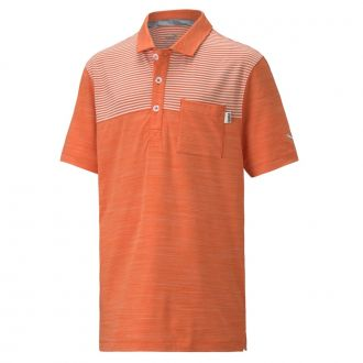 Juniors CLOUDSPUN Pocket Polo - Pureed Pumpkin