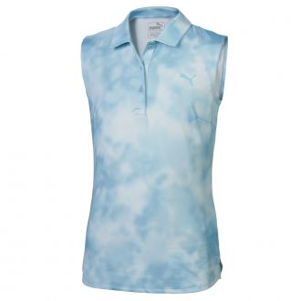 Girls Tie Dye Sleeveless - Milky Blue