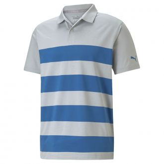 MATTR Kiwi Stripe Golf Polo