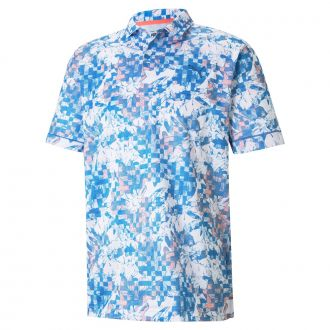 Tech Pique Botanical Golf Polo