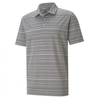 MATTR Fine Stripe Golf Polo