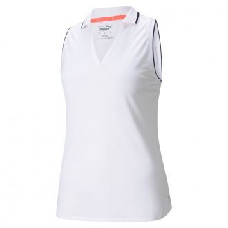 Women's MATTR Sprinter Sleeveless Golf Polo