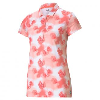 Women's CLOUDSPUN Watercolor Floral Golf Polo