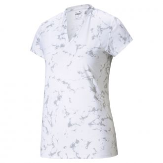 Women's CLOUDSPUN Marble Golf Polo