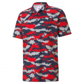 MATTR Volition Flanked Golf Polo