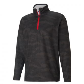 Volition Flanked 1/4 Zip Golf Jacket