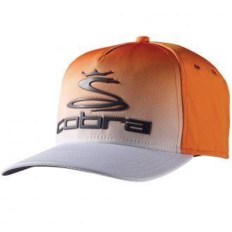 Youth Tour Fade Cap - Vibrant Orange / White