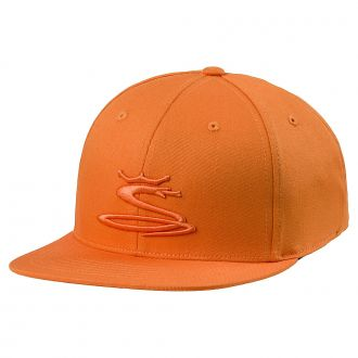 Tour Snake Snapback Cap - Vibrant Orange
