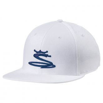Tour Snake Snapback Cap - Bright White / Peacoat