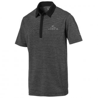 COBRA Moving Day Golf Polo - Black