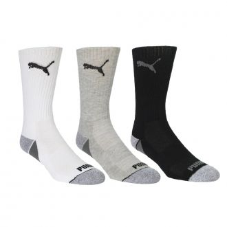 Pounce Crew Socks - Black