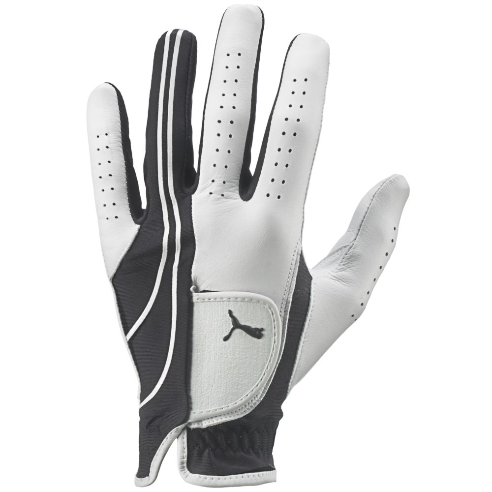 Black leather golf gloves - Formstripe Performance Glove