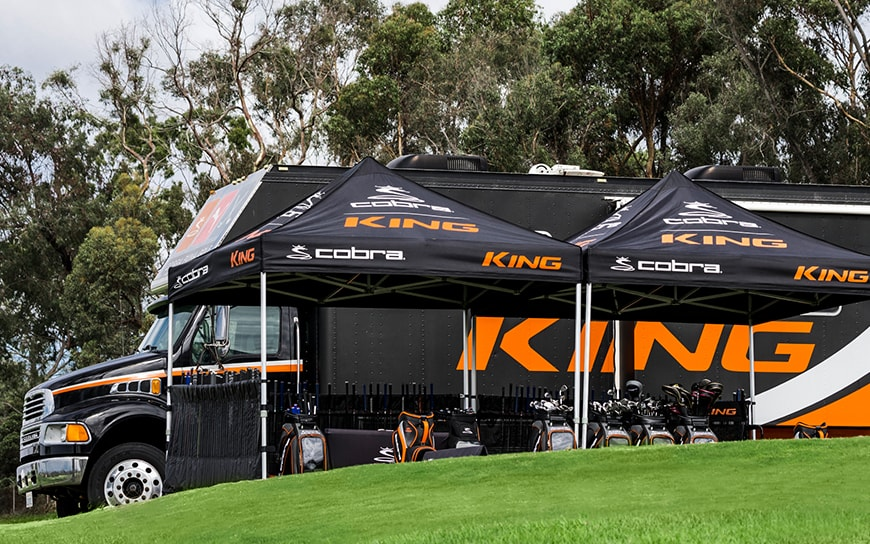 Cobra Tour Fitting Experience Truck