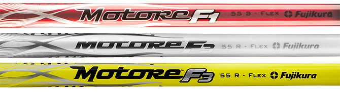 Motore F1/F3 shaft in red, white and black