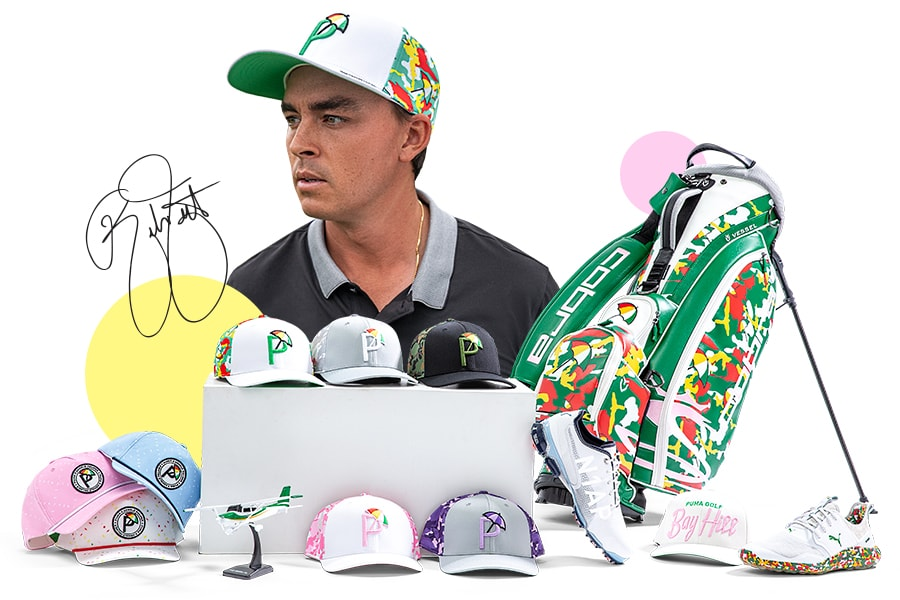 Rickie Fowler Signed Arnold Palmer Gear
