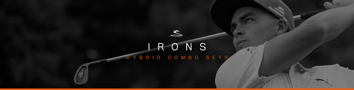 COBRA GOLF IRON HYBRID COMBO