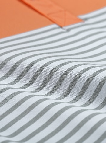 Cloudspun Detail Orange Shirt